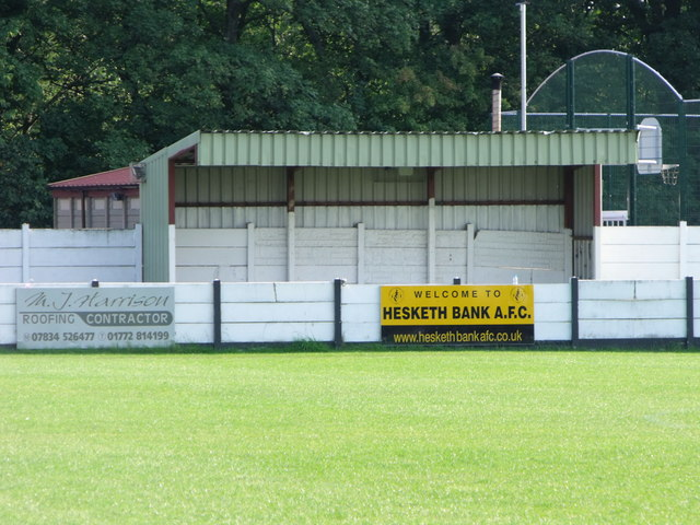 Centenary Sports Ground, home of Hesketh Bank AFC