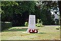 SP0582 : War Memorial, St Stephen's Church by N Chadwick