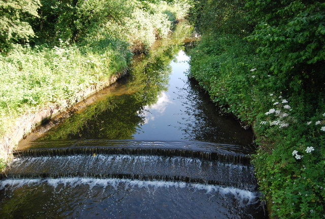Small weir, River Rea