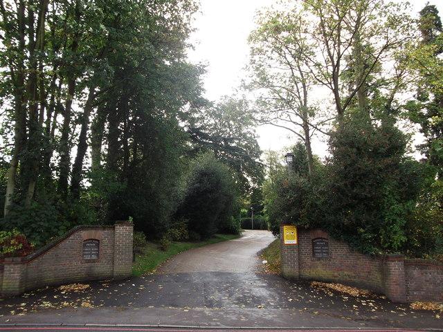 Entrance to Keston Park Estate
