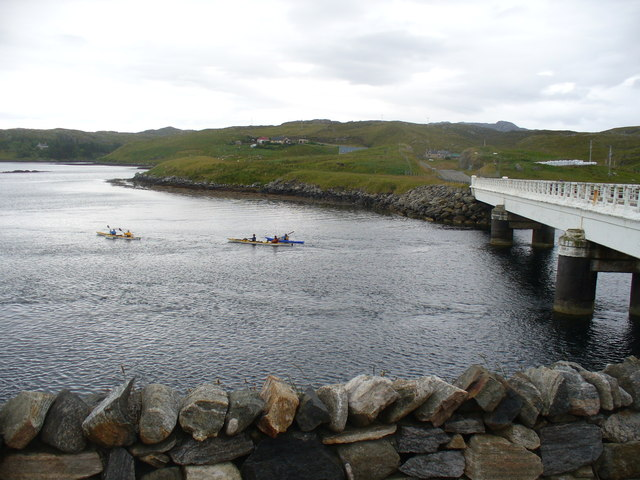 Sea Kayakers by Port a Chruidh