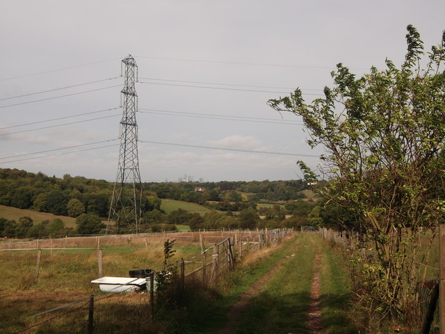 Bridleway to Keston Court