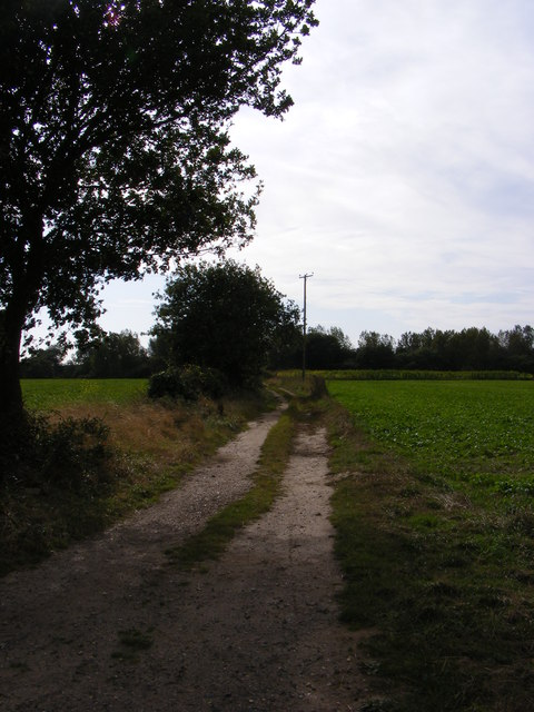 Bridleway to Capel Hill Lane & Kirton Road
