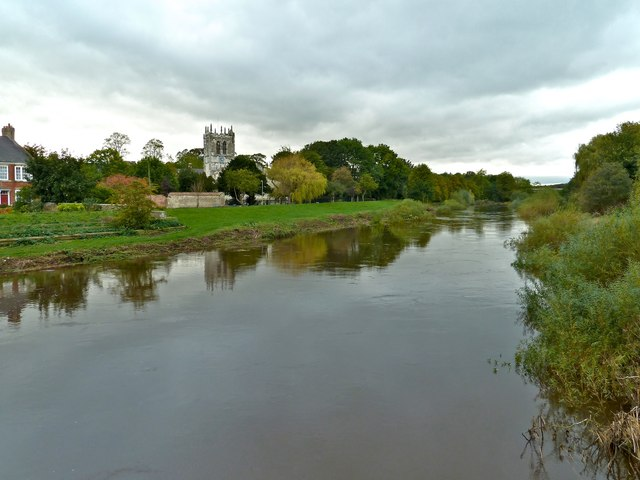 River Wharfe, Tadcaster