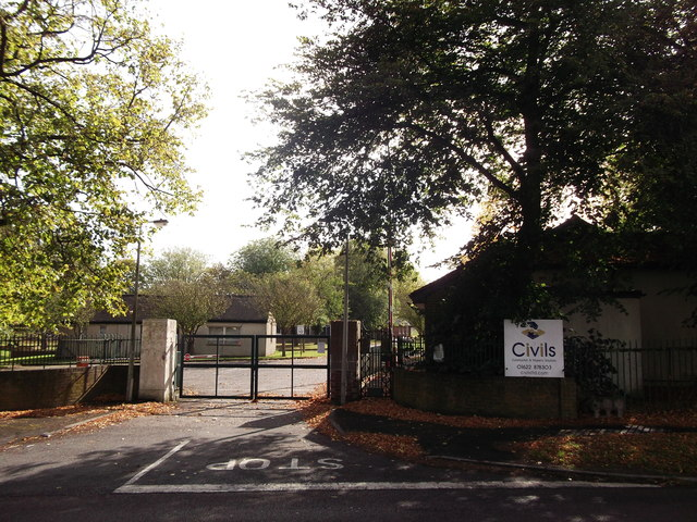 Former entrance to Biggin Hill Barracks