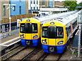 TQ2079 : Trains at South Acton station : Week 41