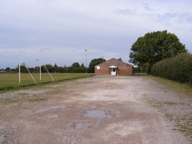 The entrance to Kirton Recreation Ground