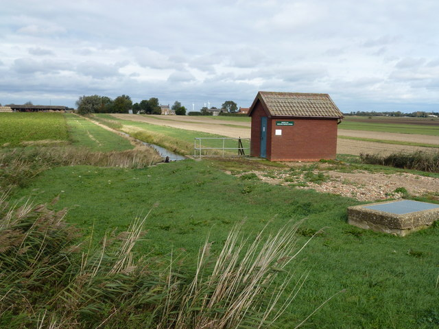 Beezling Pumping Station Benwick I.D.B. (Internal Drainage Board)