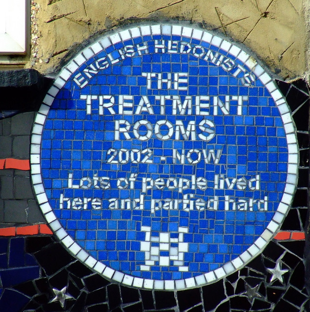 Photo of The Treatment Rooms blue plaque