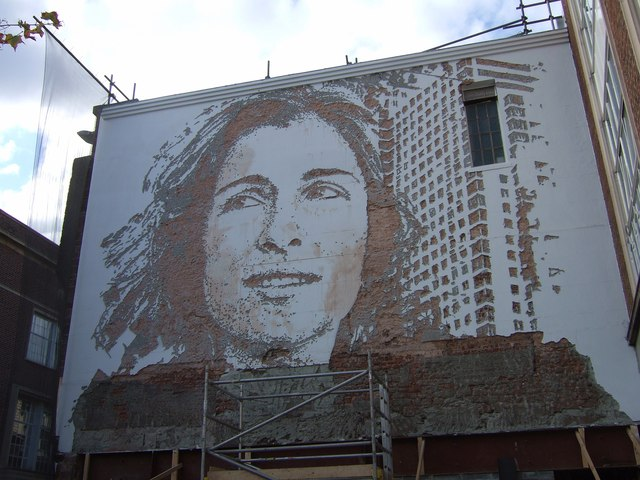 Disappeared mural, Exeter
