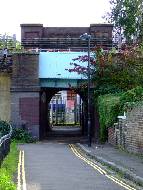 Railway bridges at Hardwicke Road