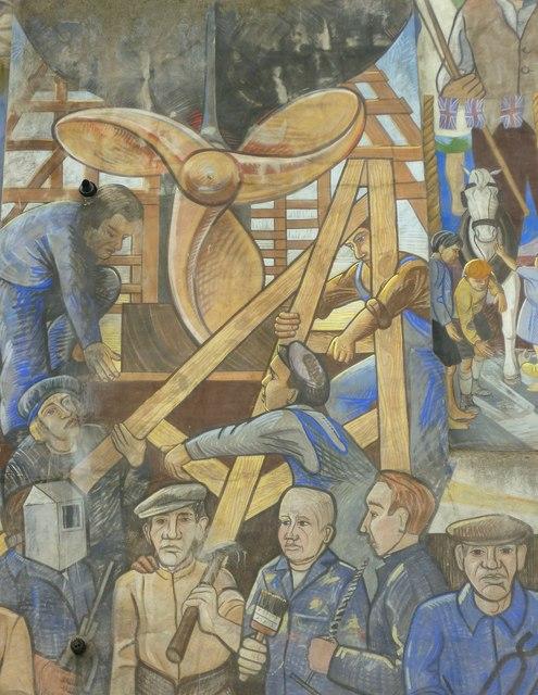 Leith Mural detail