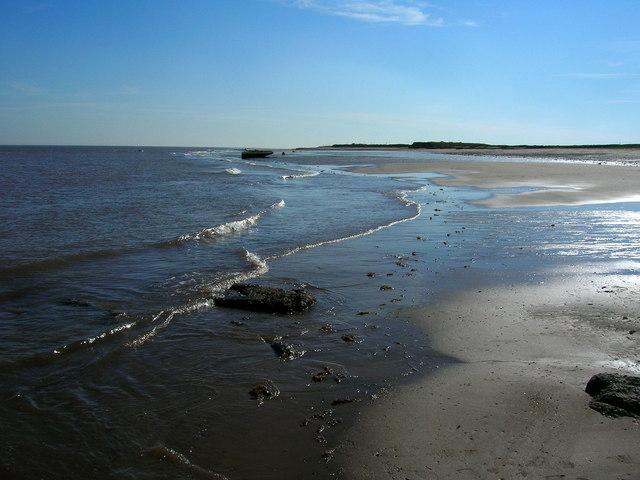 Kilnsea beach