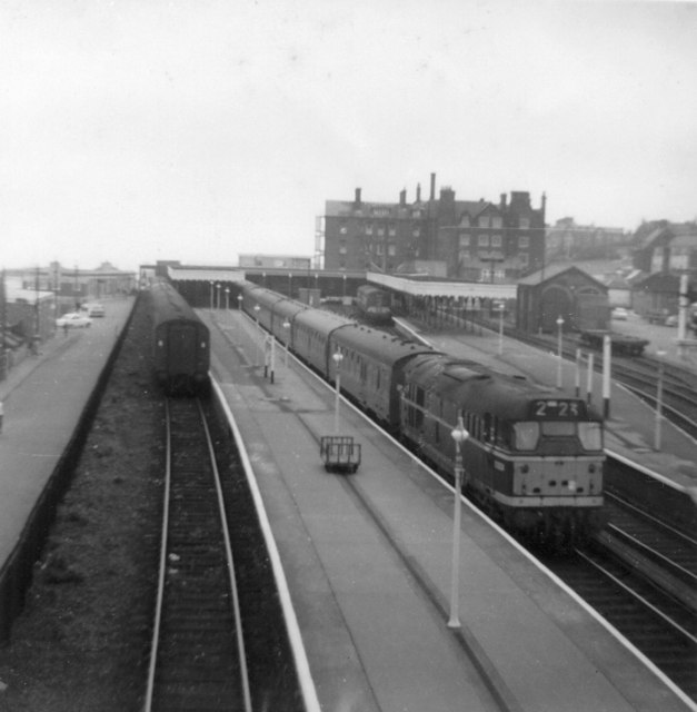 Hunstanton Station, 1963