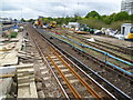 TQ2775 : Removal of old sidings at Clapham Junction by Ian Yarham