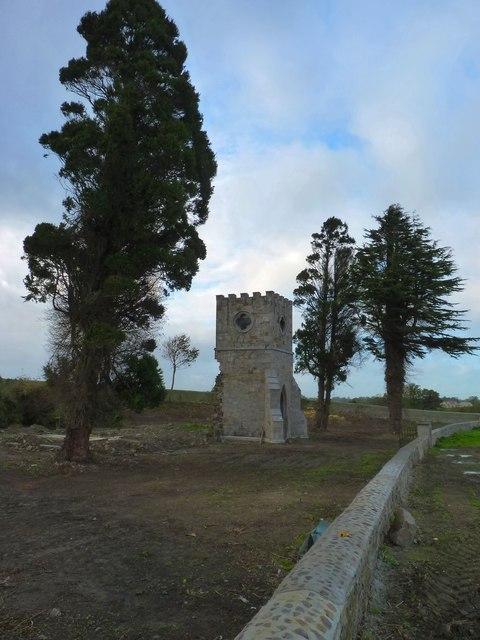 Former church tower