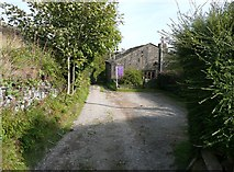 SE0027 : Raw Lane at City Farm, Mytholmroyd by Humphrey Bolton