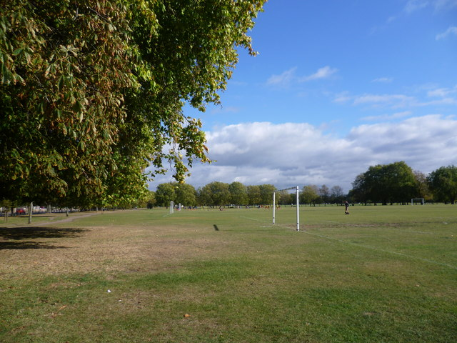 Football on Clapham Common