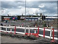 NS6164 : Road construction, Gallowgate by Richard Webb