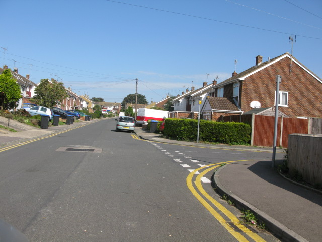 View north along Fairfield Road