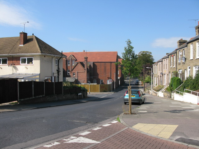 College Road from junction with Dumpton Lane