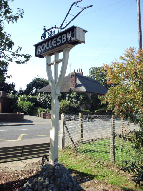 Rollesby Village Sign