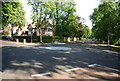 SP0682 : Roundabout, end of Moor Green Lane by N Chadwick