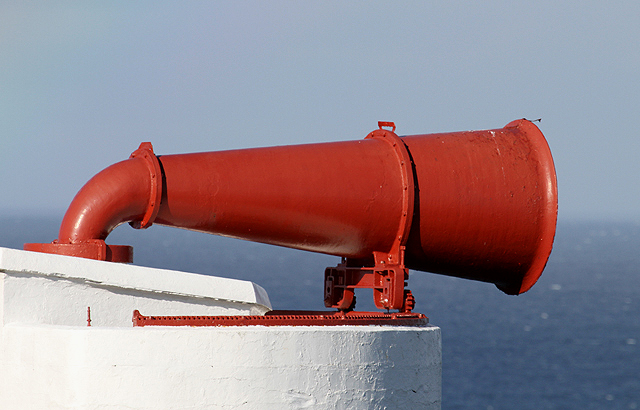 The foghorn at St Abb's Head