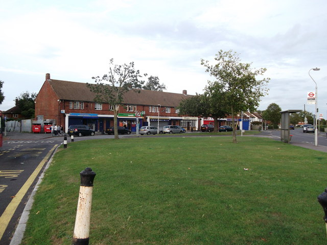 Shops on Milne Park East, New Addington