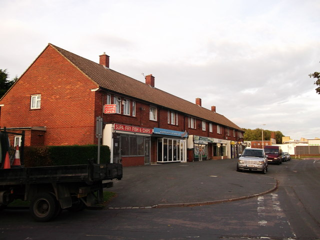 Shops on Calley Down Crescent, New Addington