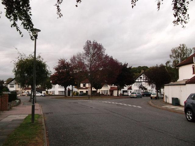Birch Tree Avenue meets Queensway, Coney Hall
