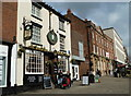SK3871 : The Market pub and shops, Chesterfield by Andrew Hill