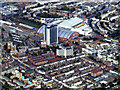 TQ2578 : Earls Court exhibition centre from the air by Thomas Nugent