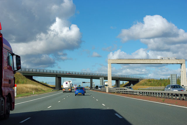 A1(M) - bridge at junction 40