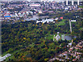 TQ1876 : Royal Botanic Gardens from the air by Thomas Nugent