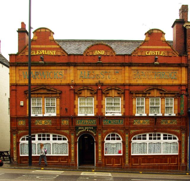 """Elephant & Castle"" public house, Wakefield"