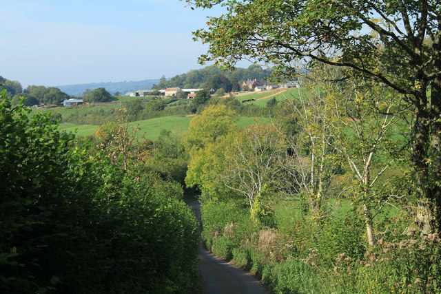 2011 : NorNorWest on Stoodly Lane, near the bottom