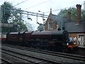 SP3097 : 6201 Princess Elizabeth at Atherstone Station by Richard Dunn