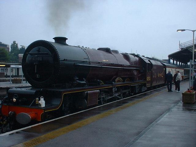 6201 Princess Elizabeth at Chester Station