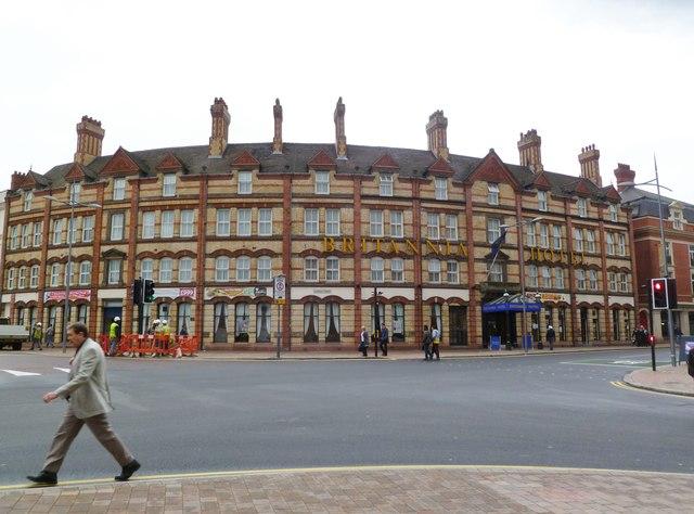 Wolverhampton, Britannia Hotel