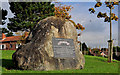 J4187 : US Rangers memorial stone, Carrickfergus by Albert Bridge