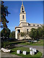 TQ3479 : St James Church, Thurland Road, Bermondsey by Ian Yarham