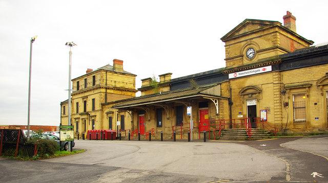 Car Park Kirkgate Train Station Wakefield