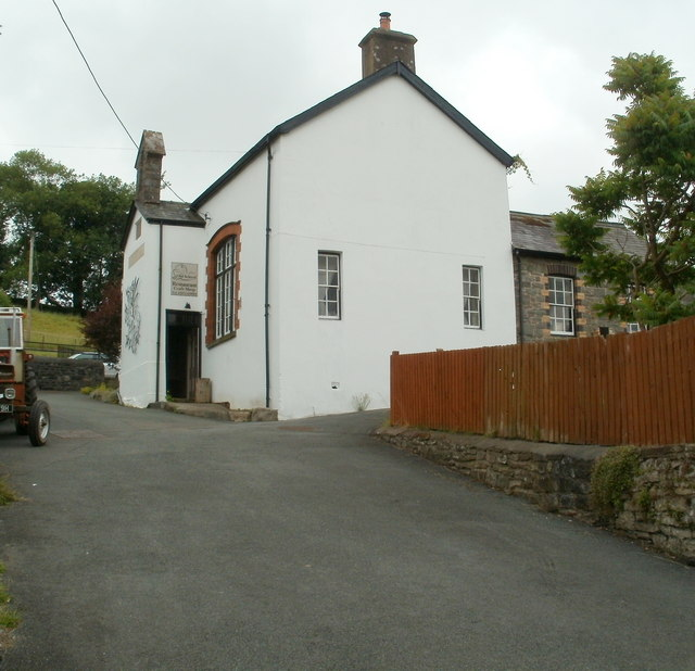 The Old School Craft Shop and Restaurant, Defynnog