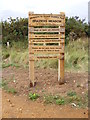 TM1840 : Braziers Meadow sign by Adrian Cable