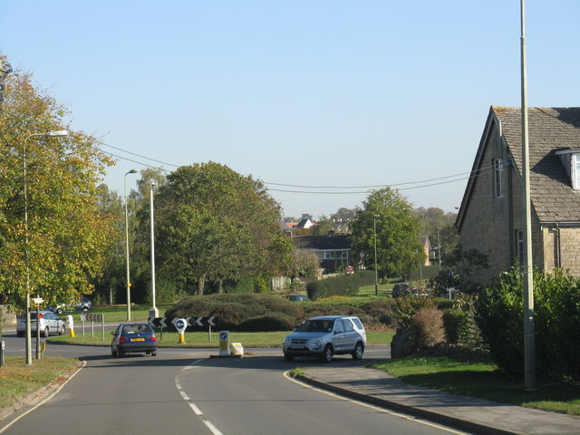 Witney - Curbridge Road roundabout