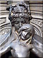 TQ2980 : Memorial to Queen Alexandra, Marlborough Road, SW1 - detail by Mike Quinn