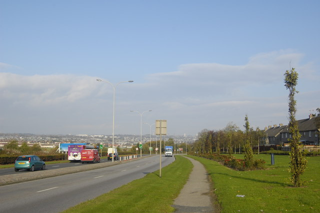 A90 approach to Aberdeen