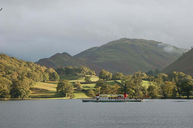 MV 'Raven' on Ullswater
