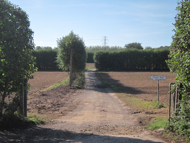 Farmland by New Cut Road